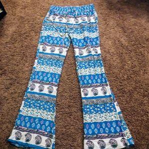 American eagle boho style flair lounge pants